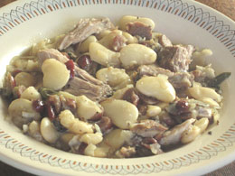 ROAST PORK WHITE BEANS